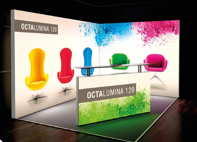 Descubre la innovación en sistemas para exposiciones con OCTANORM