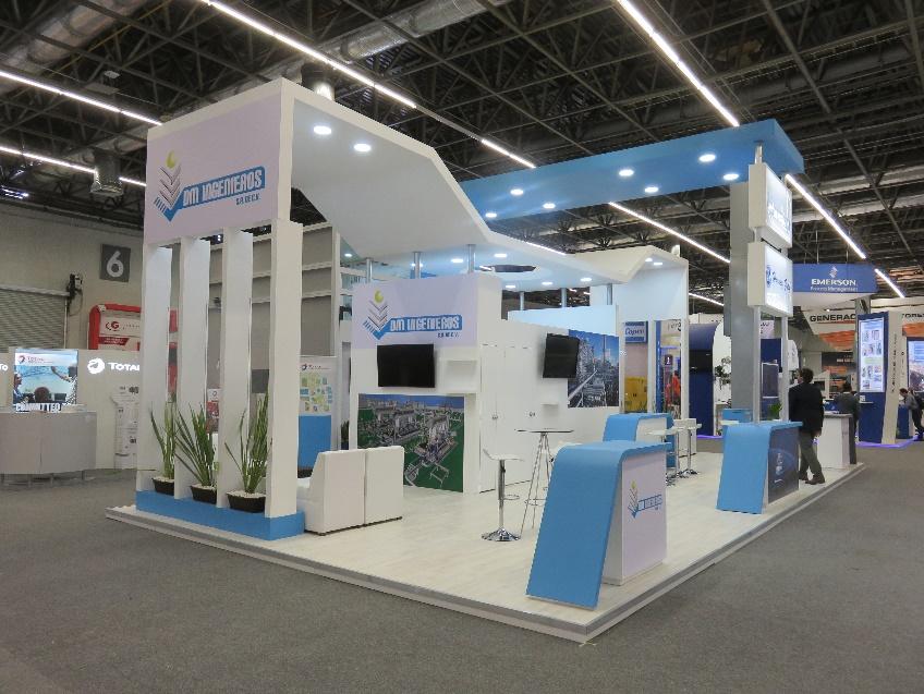 EDG Internacional, productividad y dinamismo en diseño de stands.