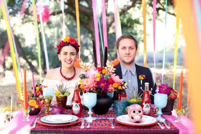 ¿Una boda con tema de Día de Muertos?