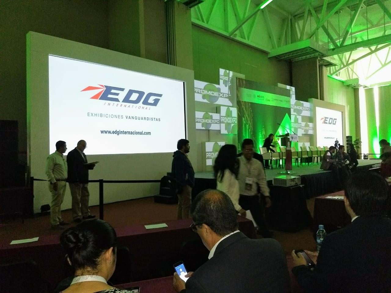 EDG Internacional, Exhibiciones vanguardistas