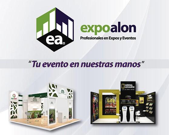 Expoalon, creando eventos y stands para gestionar negocios