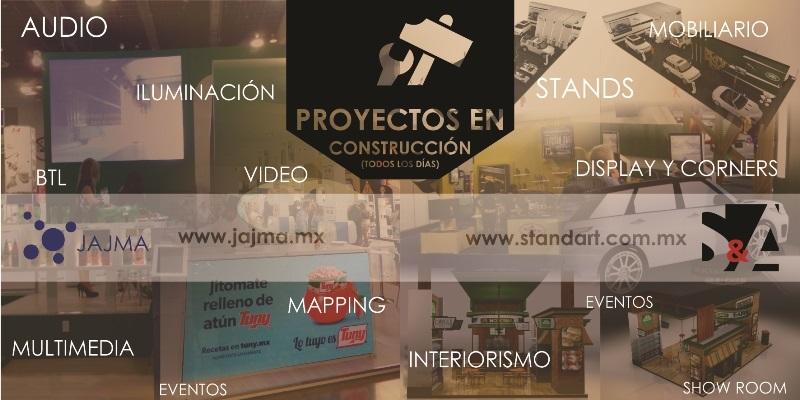 Stand & Art y Jajma Producciones. Fabricamos sueños, producimos emociones y creamos experiencias