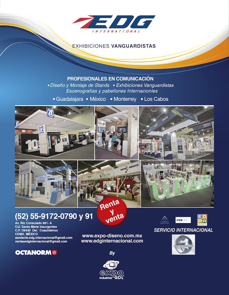 EDG INTERNACIONAL – Diseño, fabricación de stands, pabellones, escenografías