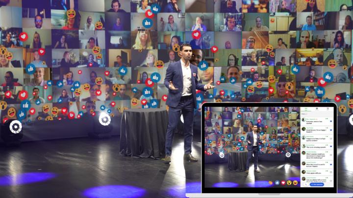 Sparkup Now! Un espacio donde lo virtual, lo híbrido y lo presencial se unen