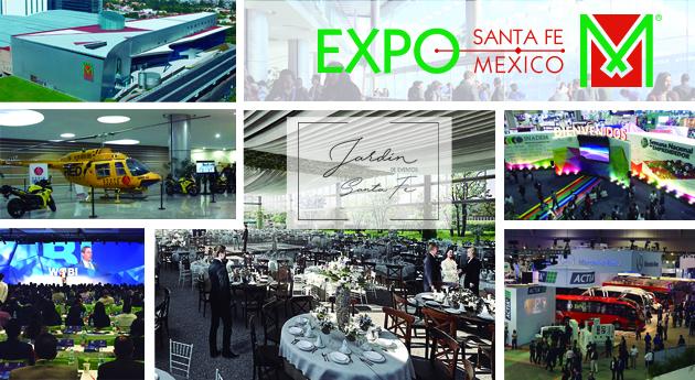 Conoce a Expo Santa Fe México, sede de EIS 2018, y descubre su nuevo jardín de eventos.