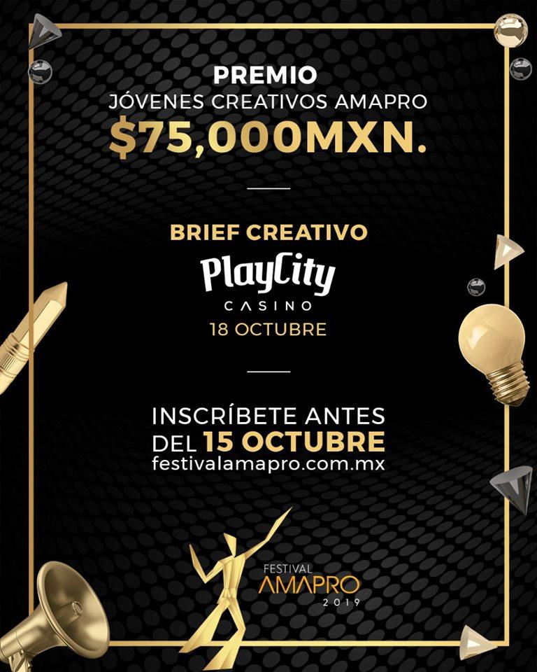 """La Asociación Mexicana de Agencias de Promociones, AMAPRO, convoca al """"FESTIVAL AMAPRO 2019"""