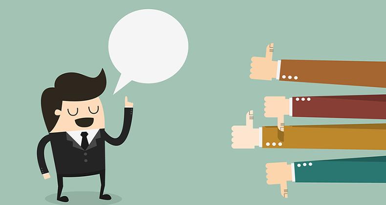 Cómo lidiar con el feedback negativo hacia tu evento