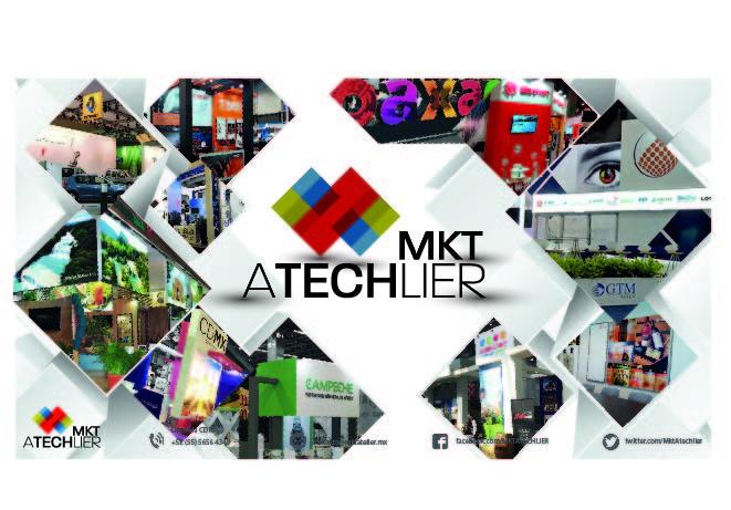 Servicios para ferias y exposiciones. Todo lo que necesitas con MKT Atechlier