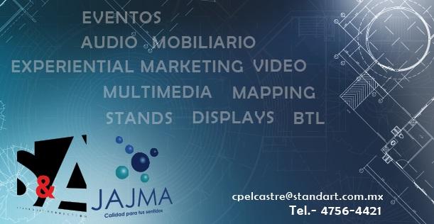 JAJMA/ Stand&Art, fabricando sueños y produciendo experiencias en tus eventos