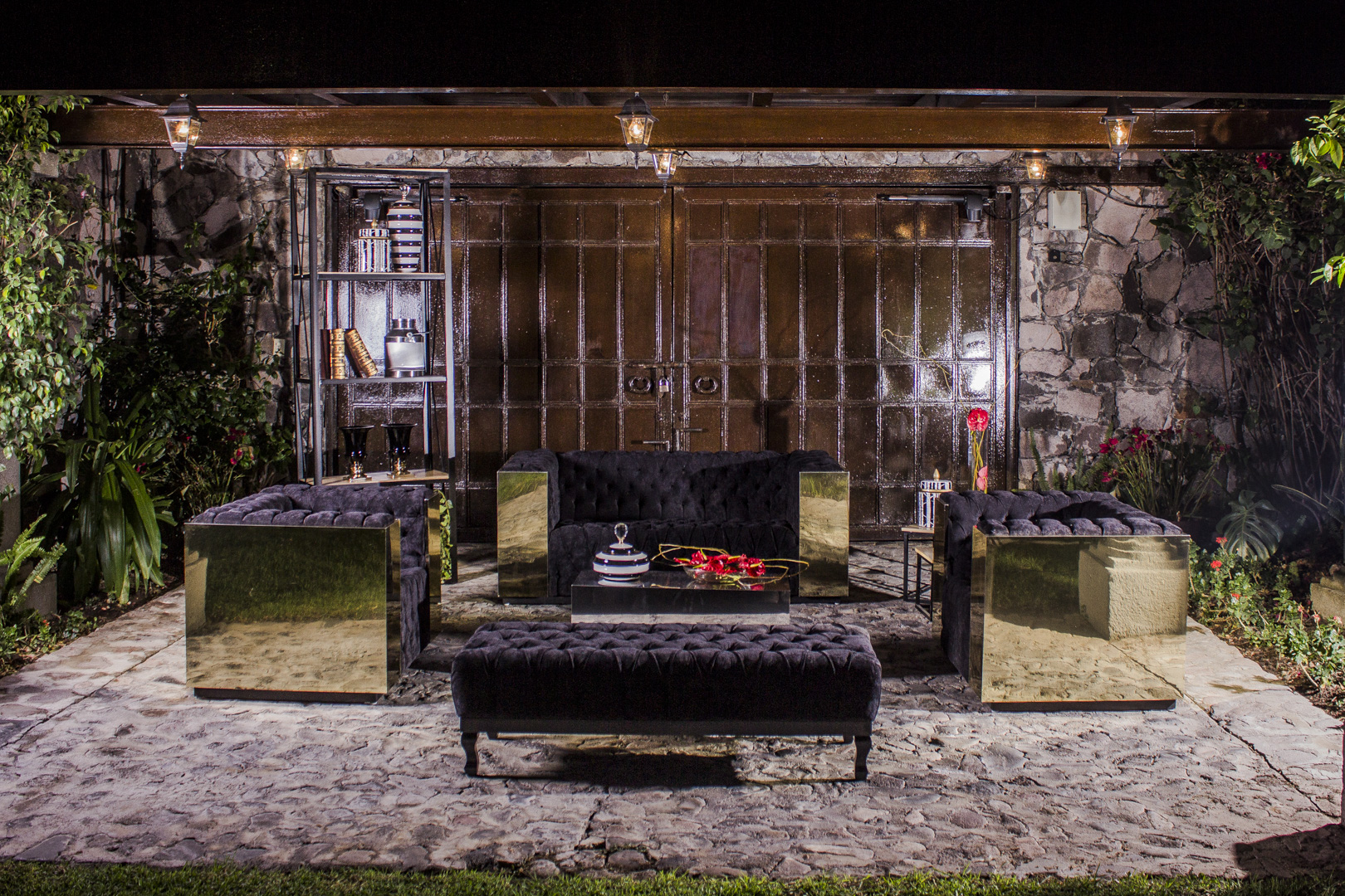 Mobiliario de diseño y calidad para el evento de tus sueños con Petricor