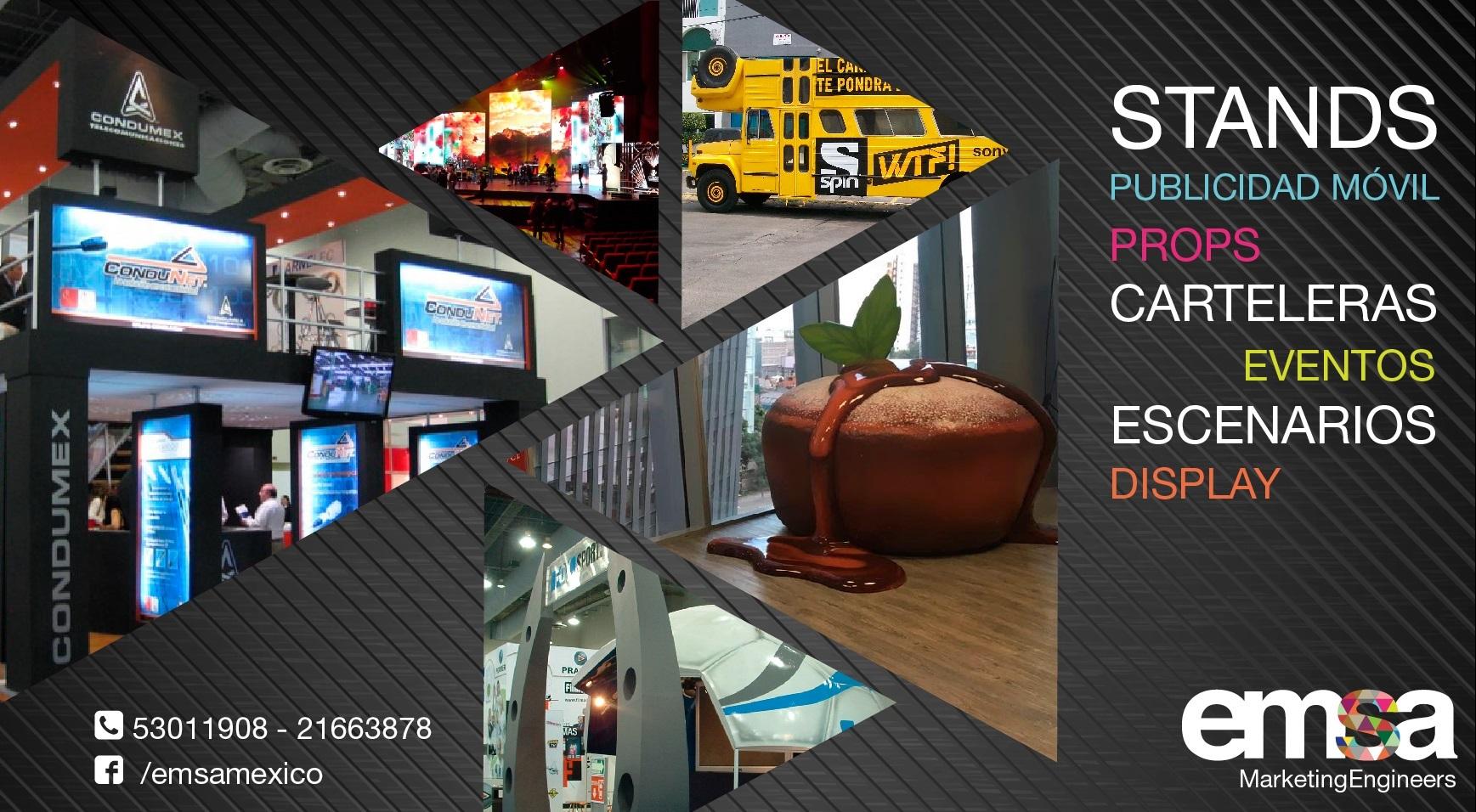 Grupo EMSA: expertos en publicidad exterior, publicidad en gran formato y publicidad móvil